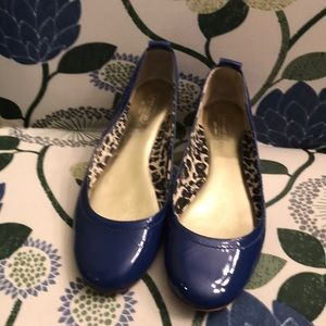 Coach blue flats great condition